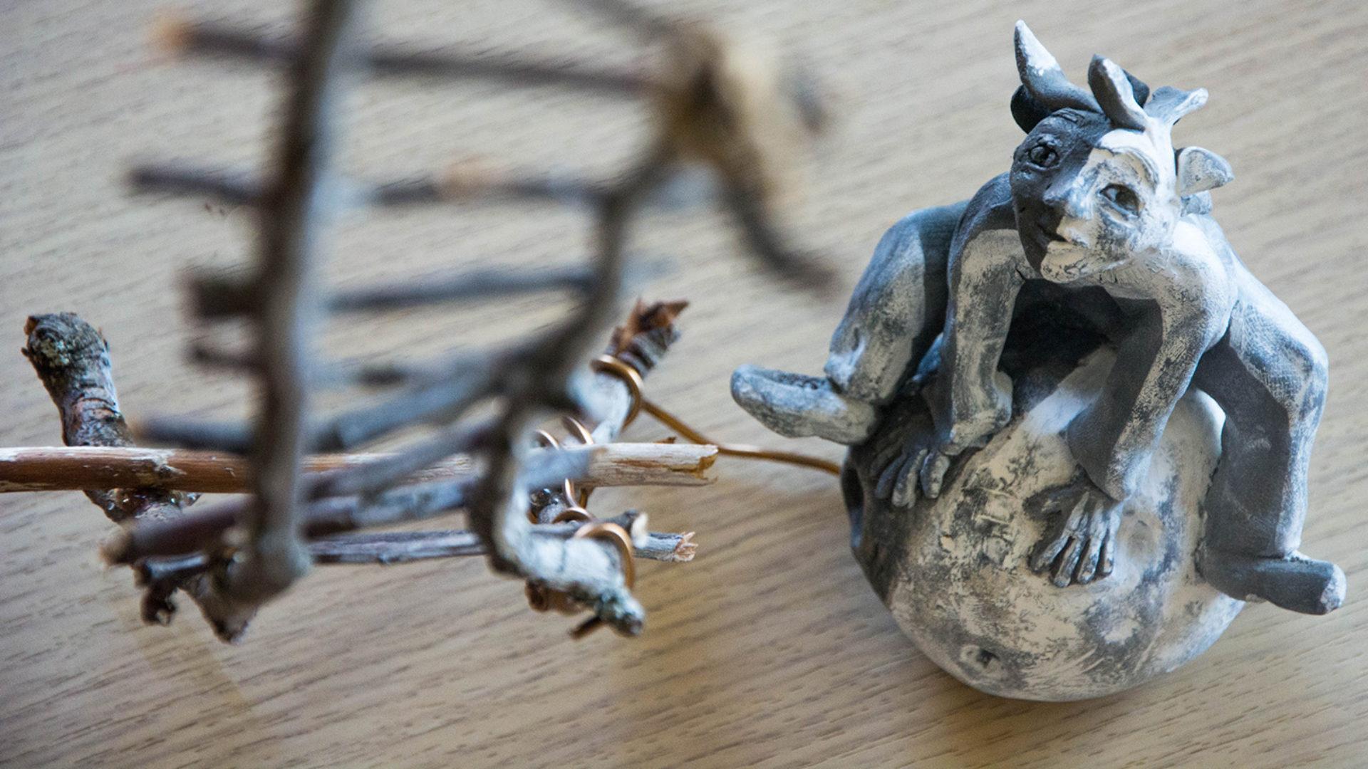 Au grés du vent / Atelier poterie céramique sculpture, vente et animations